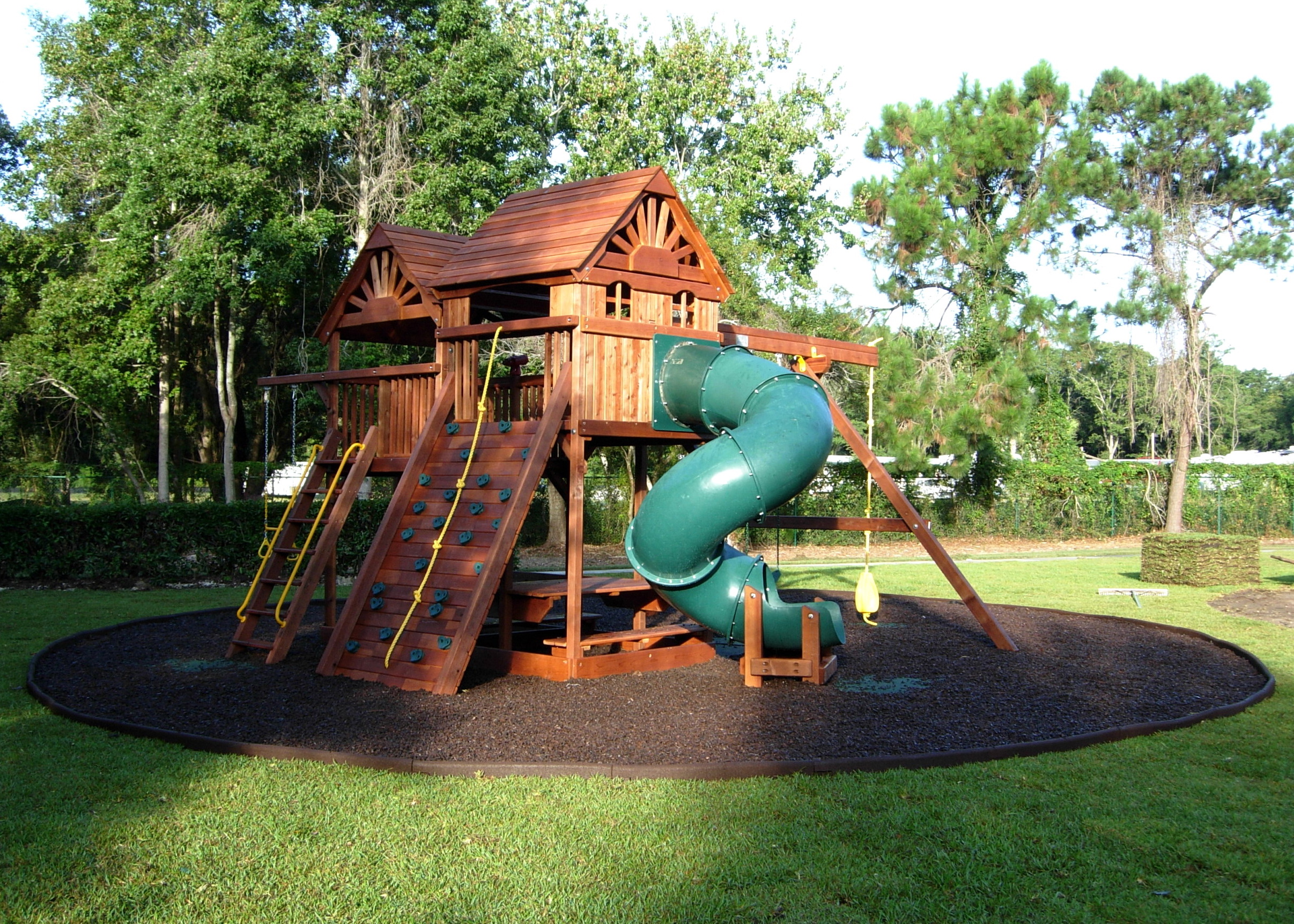 Dog Backyard Playground Ideas :  MULCH IN BULK  Rubber Mulch, Playground Rubber Mulch, Rubber Borders